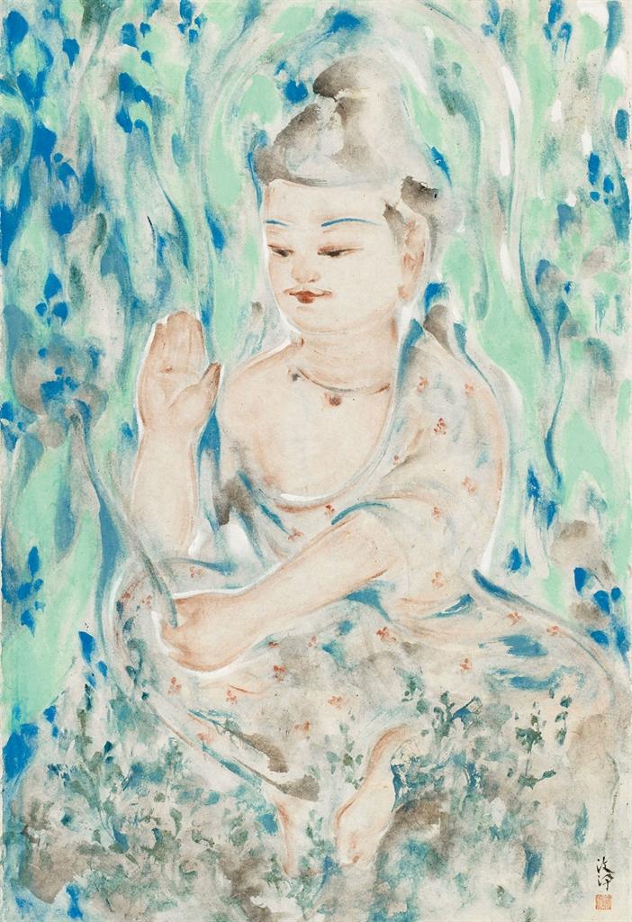 Pan Wenxun-Scattering of Heavenly Dew-2016