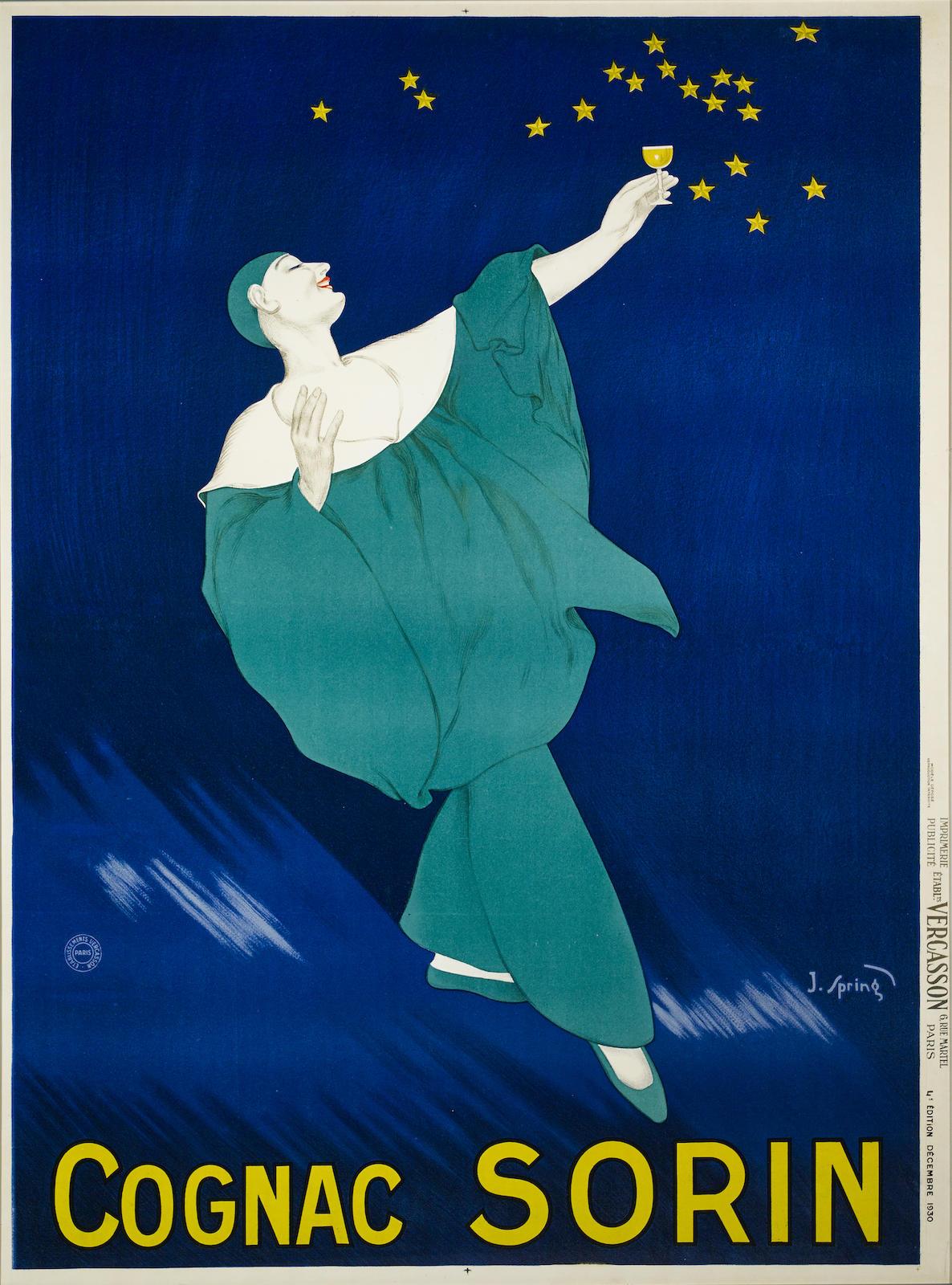 J. Spring - Cognac Sorin, 1930-1930