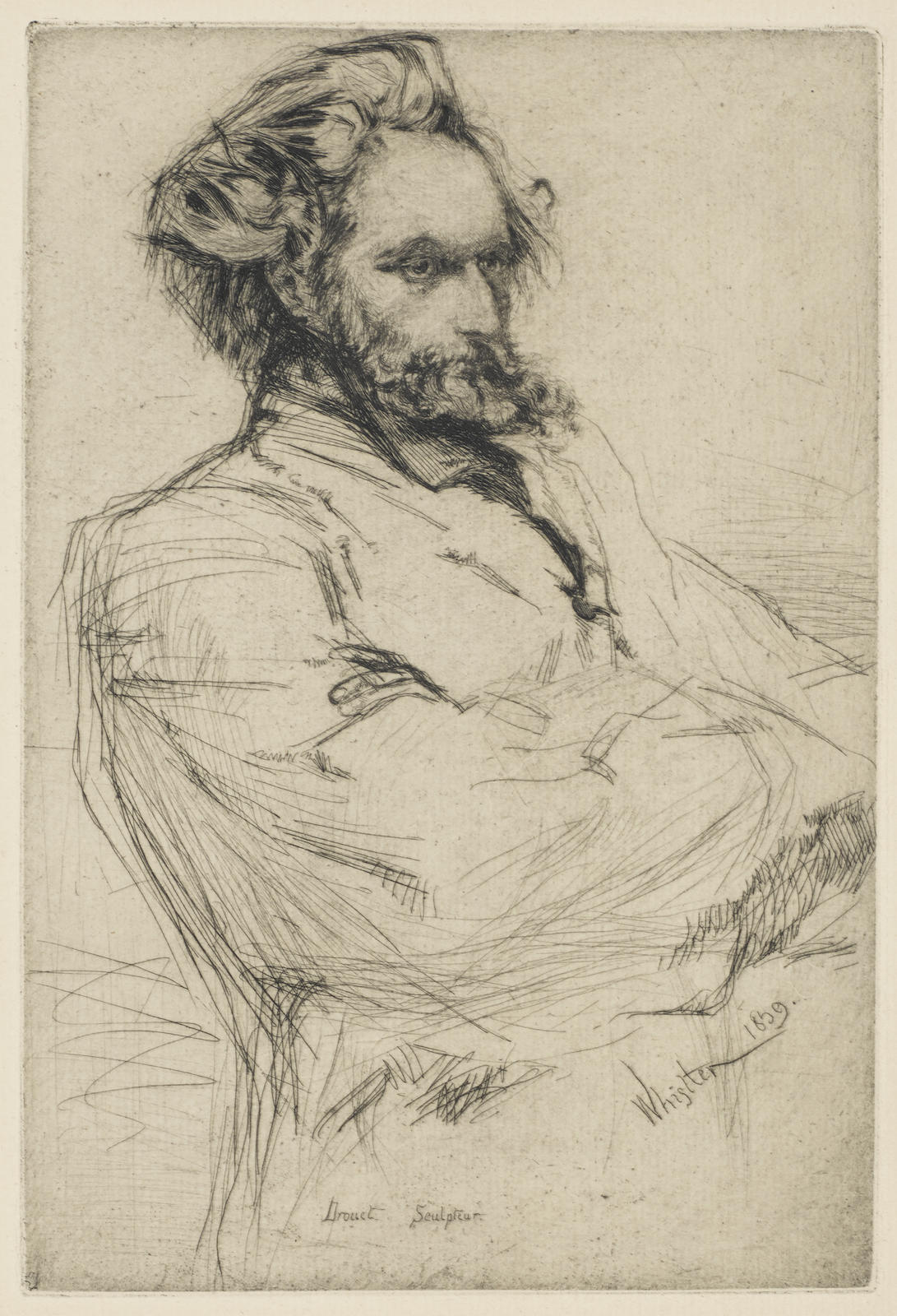 James Abbott McNeill Whistler-Drouet (K. 55)-1859
