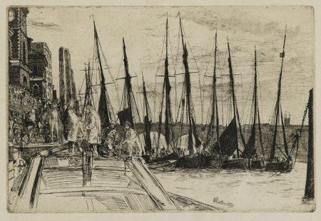 James Abbott McNeill Whistler-Thames Police; Billingsgate; Hurlingham (K. 44, 47, 181)-1879