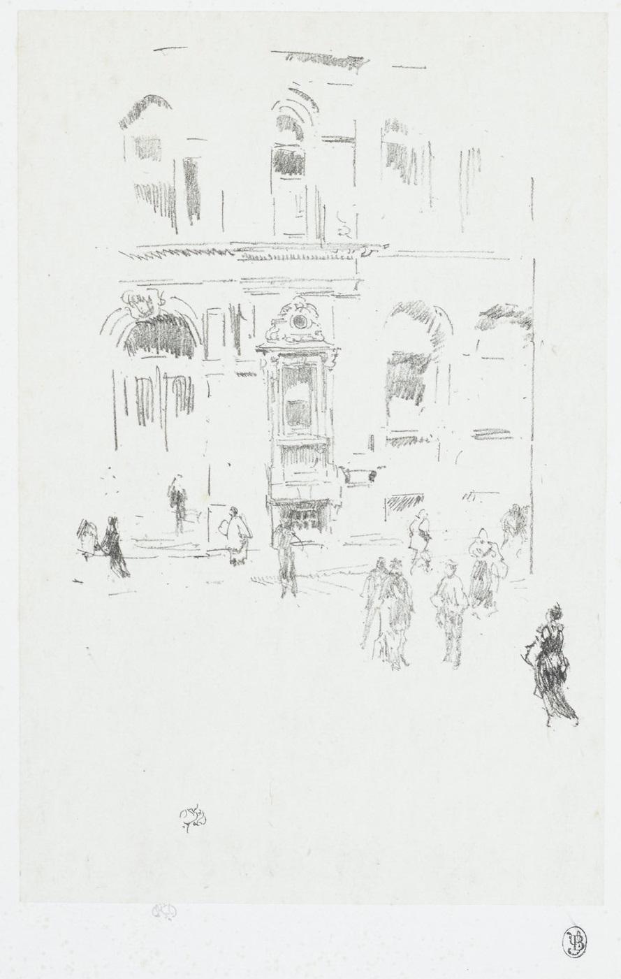 James Abbott McNeill Whistler-Victoria Club (W. 11; L. 22; S. 15)-1879