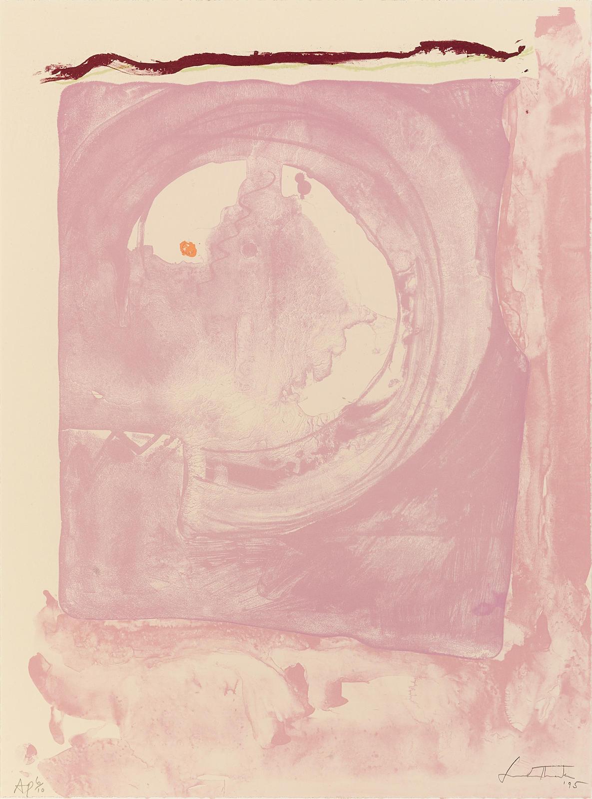 Helen Frankenthaler-Reflections IX, 1995-1995