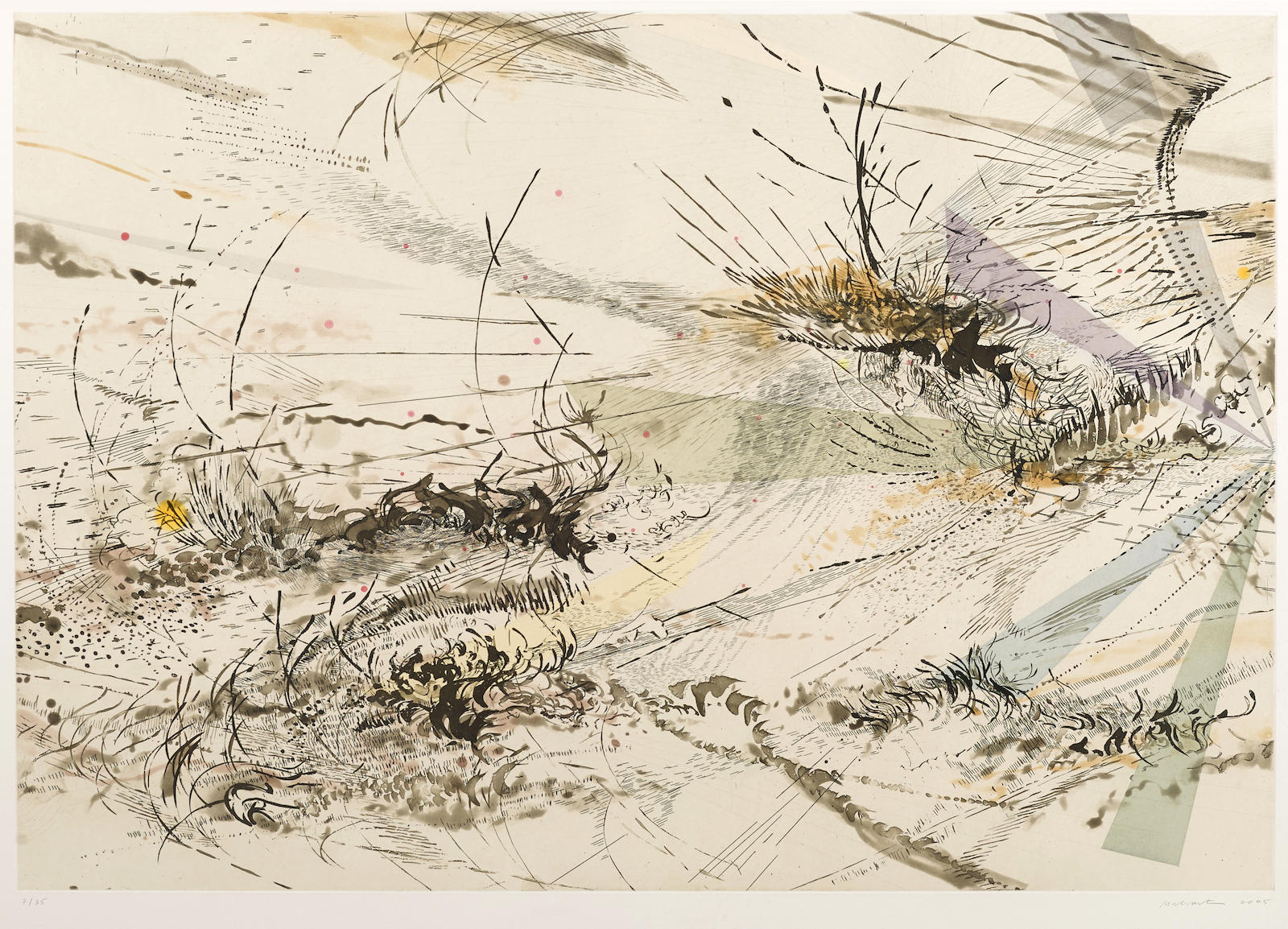 Julie Mehretu-Diffraction, 2005-2005