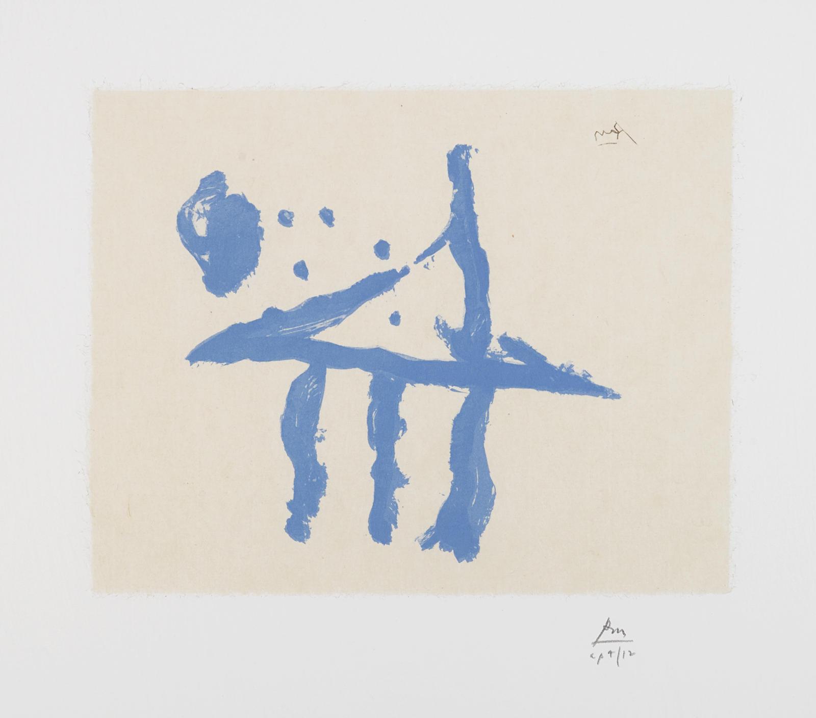 Robert Motherwell-Summer Trident (E./B. 506)-1990