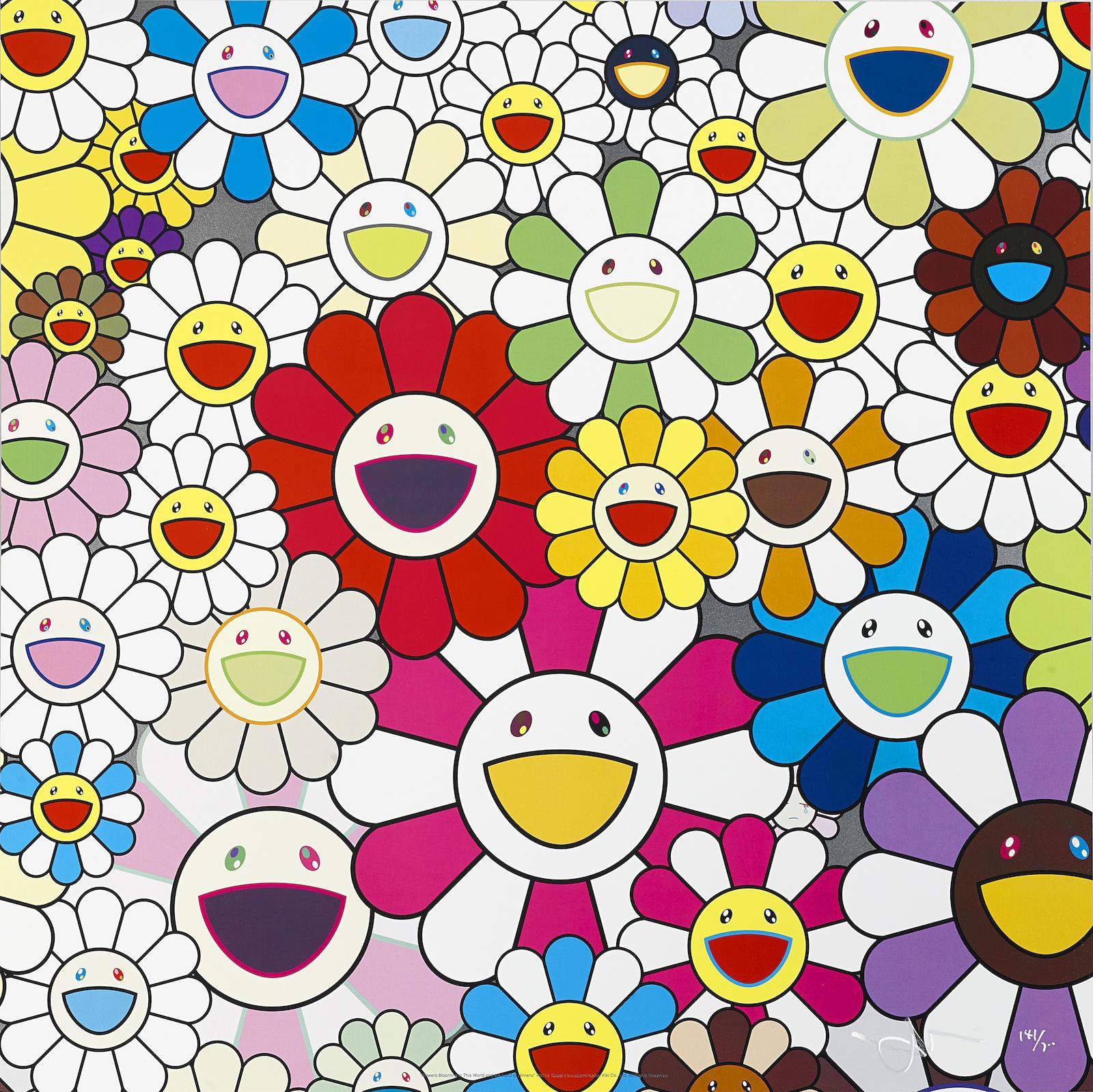Takashi Murakami-Kaikai Kiki News No. 2; Flowers Blooming in the World and the Land of Nirvana, 2008; 2013-2013