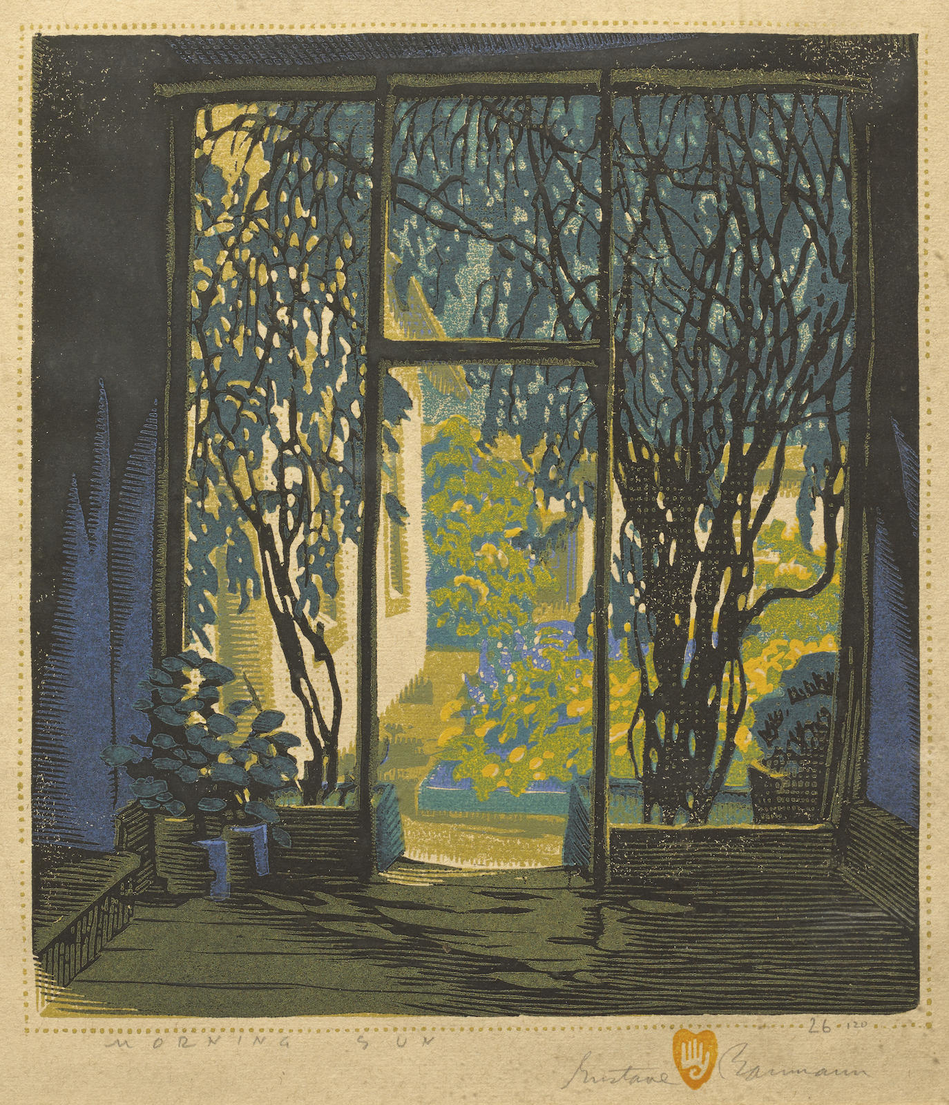 Gustave Baumann-Morning Sun (A. 83)-1931