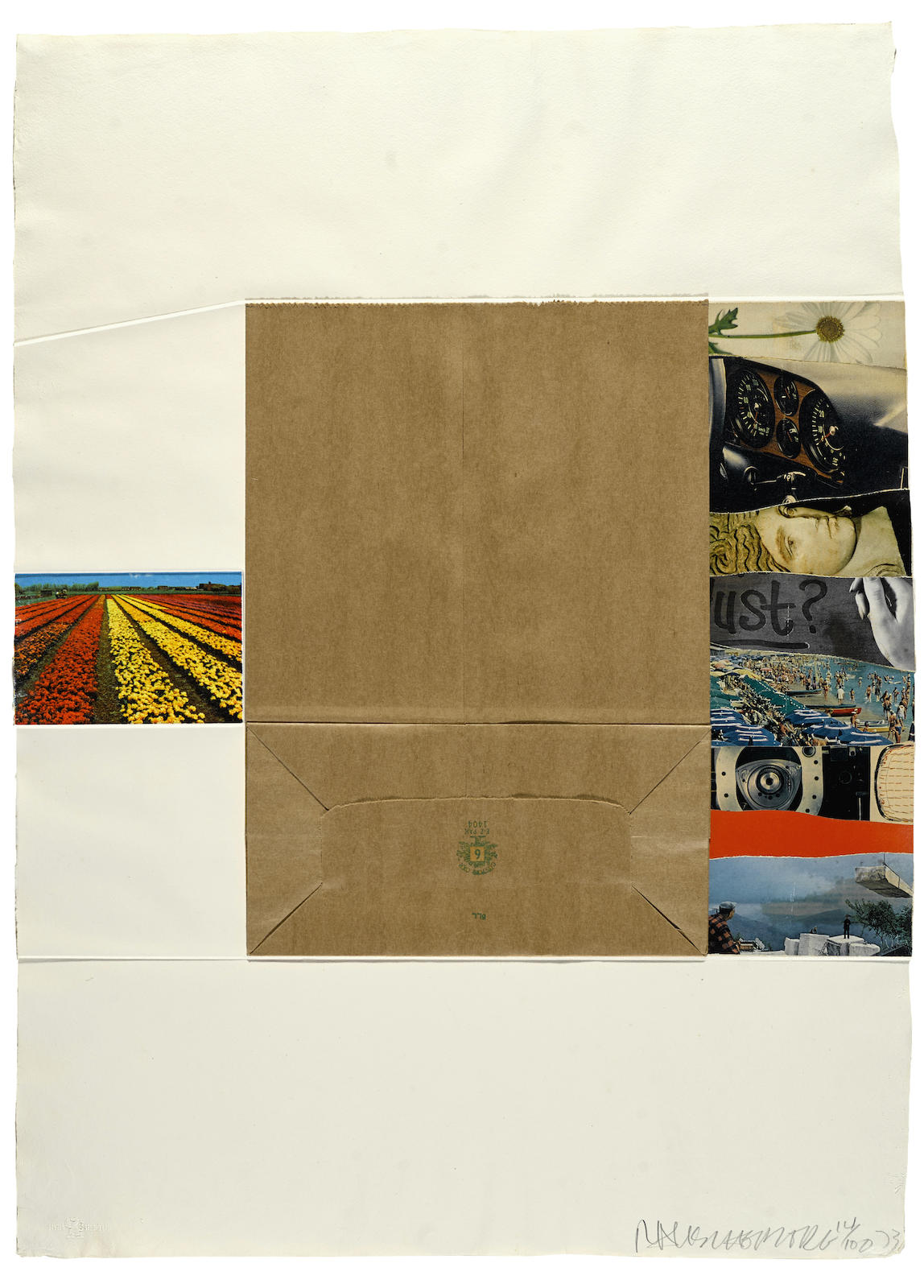 Robert Rauschenberg-Plot, from Reality and Paradoxes, 1973-1973