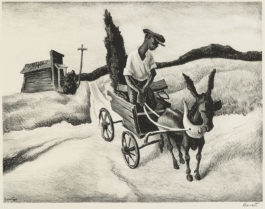 Thomas Hart Benton-Lonesome Road (F. 18)-1938