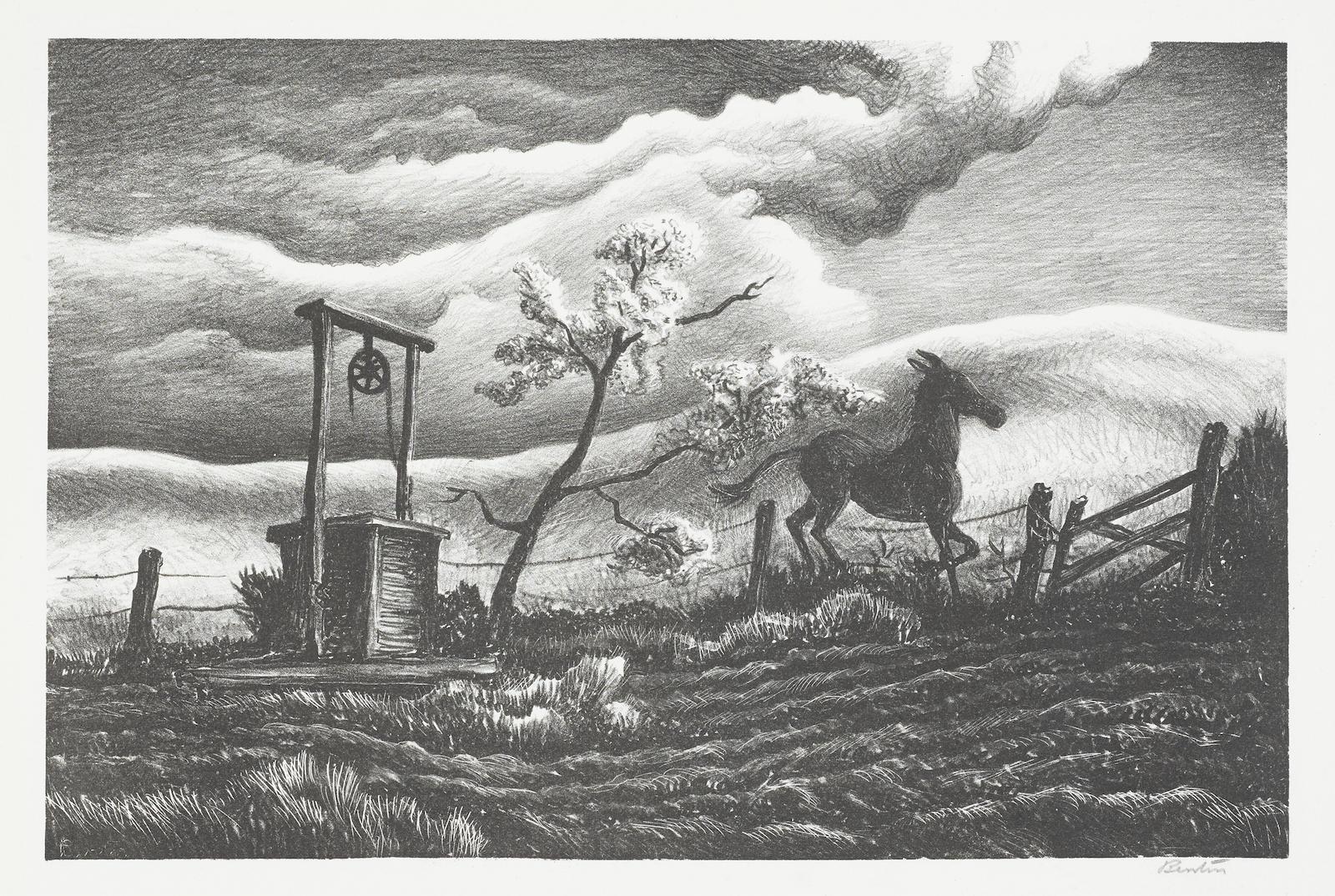 Thomas Hart Benton-Frisky Day (F. 30)-1939