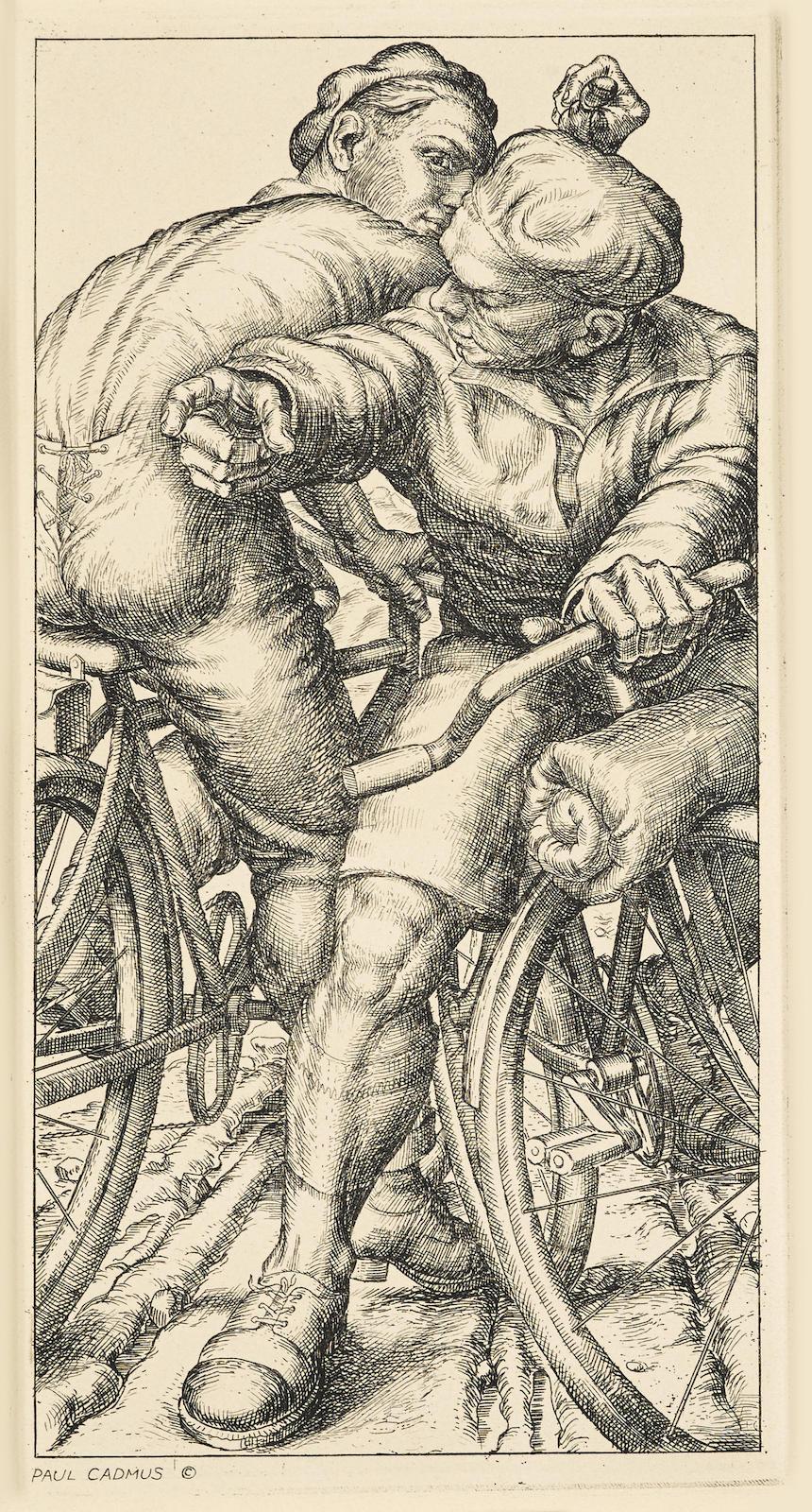 Paul Cadmus-Going South (D. 33; J. 76)-1934
