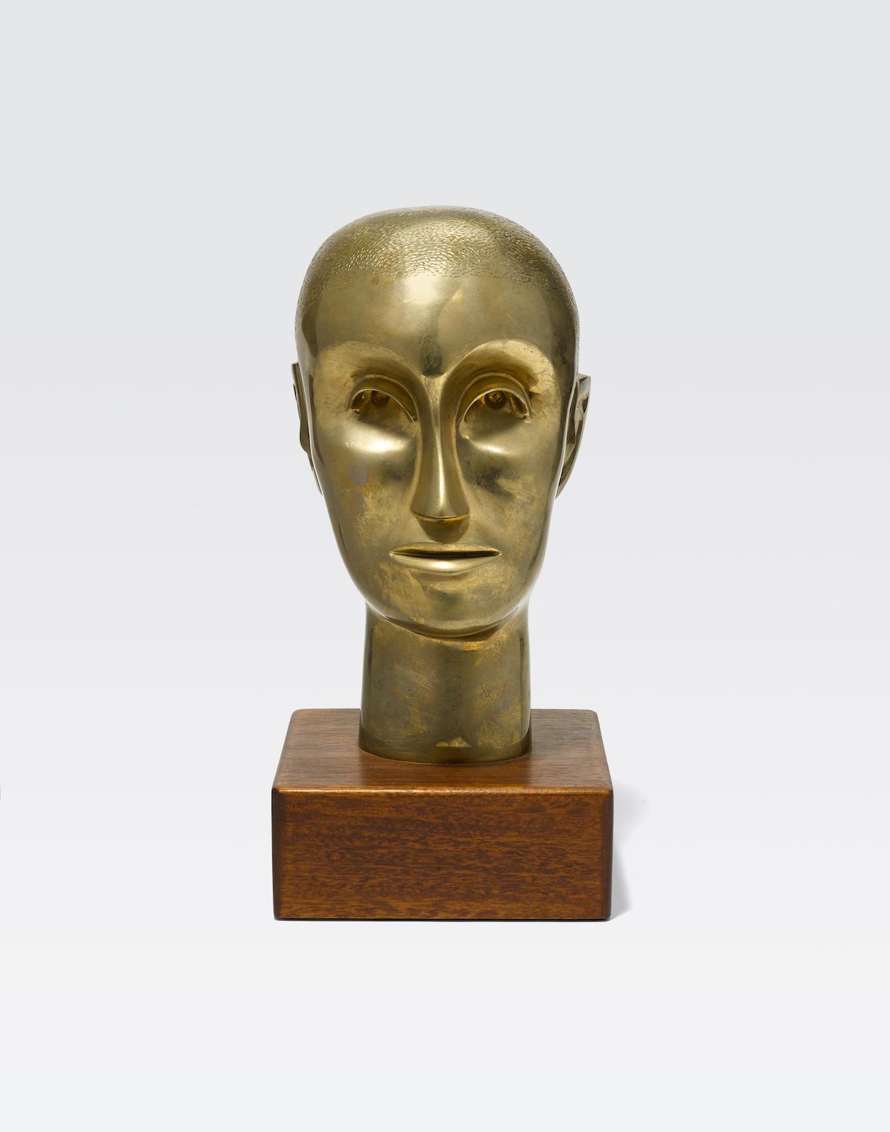 Elizabeth Catlett-Untitled (Bust)-1960