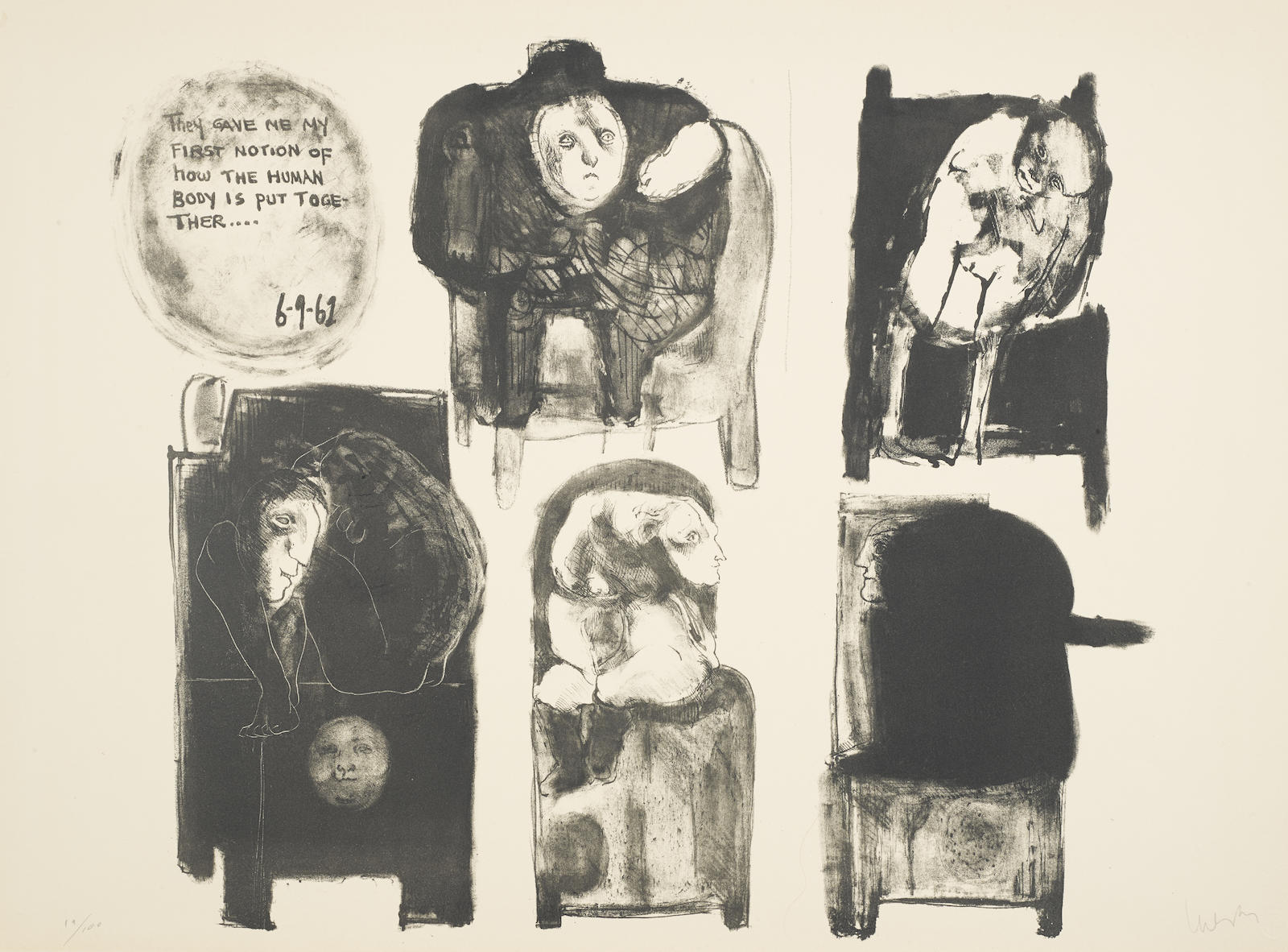 Jose Luis Cuevas-Recollections of Childhood, 1962-1962