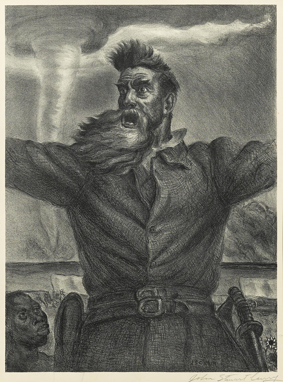 John Steuart Curry-John Brown (C. 34)-1940