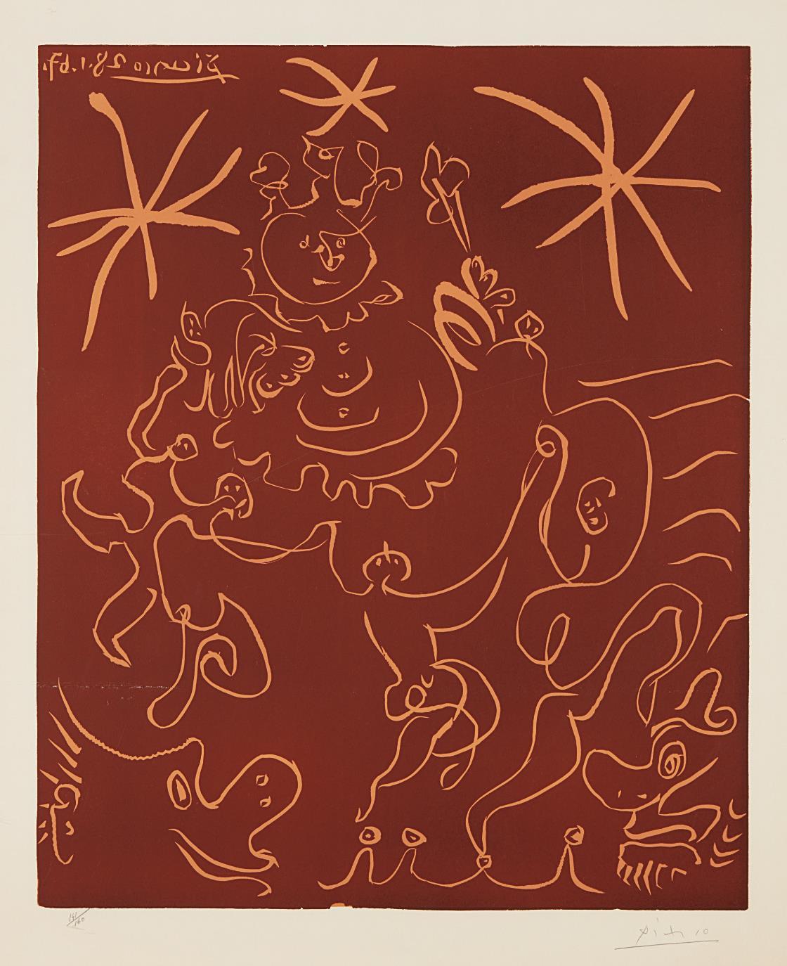 Pablo Picasso-Carnival-1967