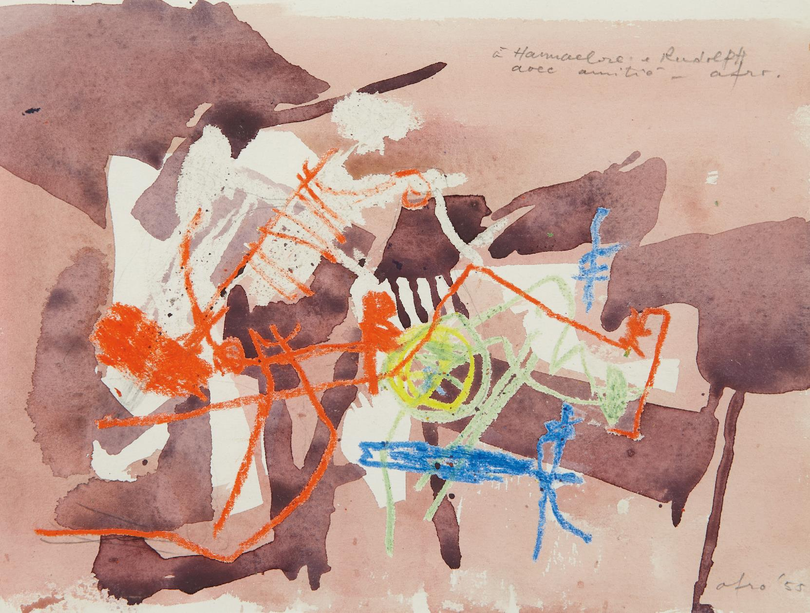 Afro Basaldella-Untitled-1955