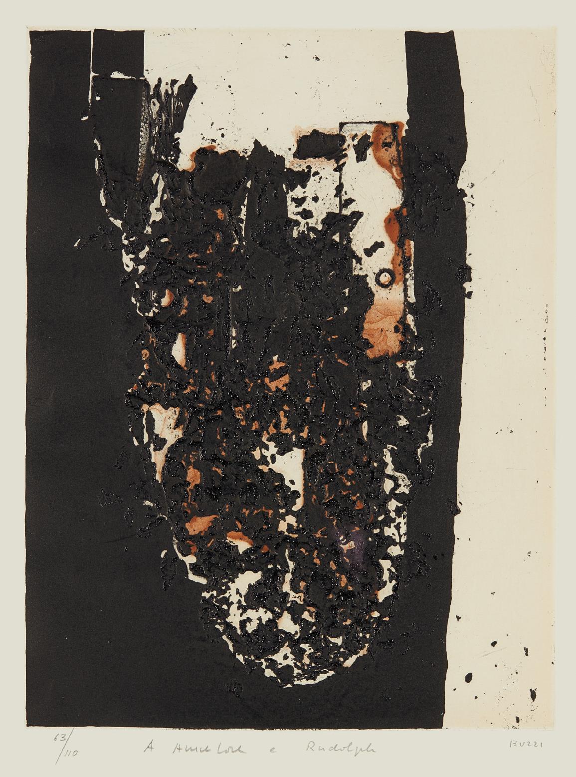 Alberto Burri-Combustione-1964