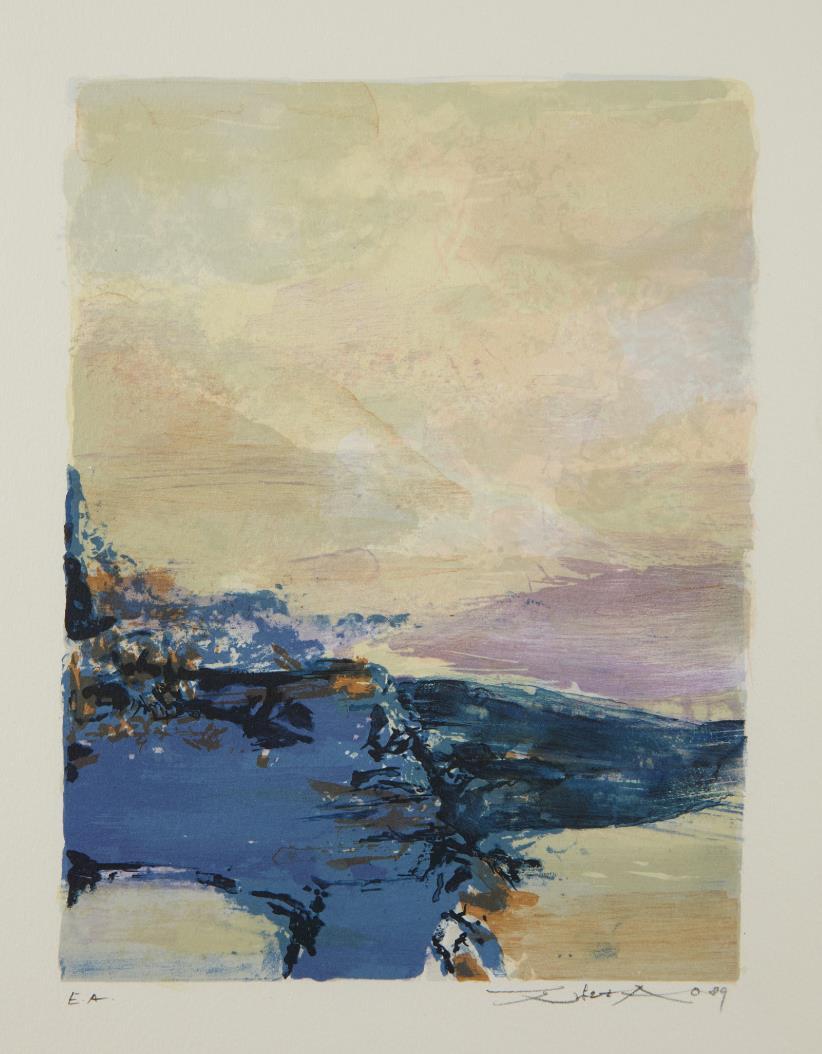 Zao Wou-Ki-Untitled-1990