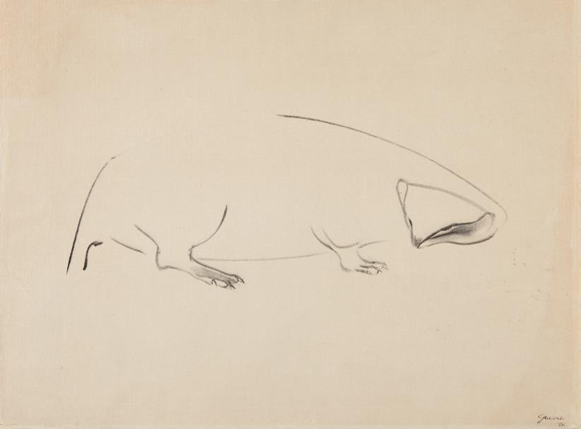 Morris Graves-Animal-1954