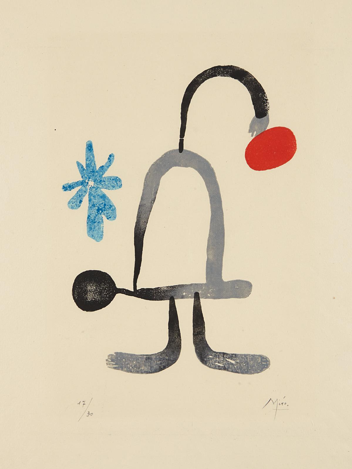 Joan Miro-A toute epreuve: One Plate-1958
