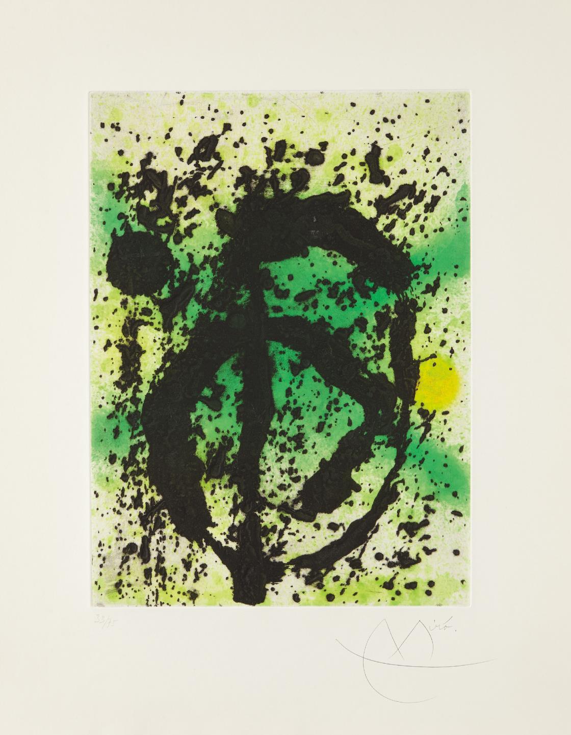 Joan Miro-Regne vegetal (United Plant Kingdom)-1968
