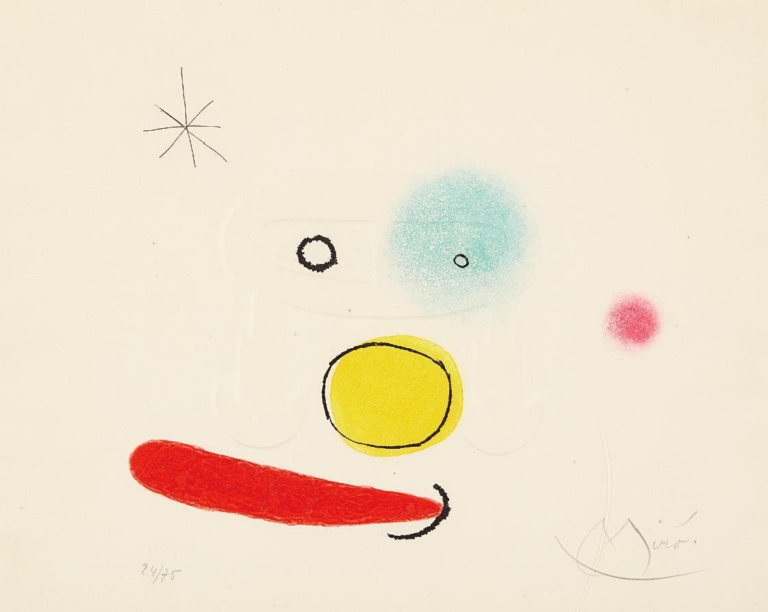 Joan Miro-Le bijou (The Jewel)-1966