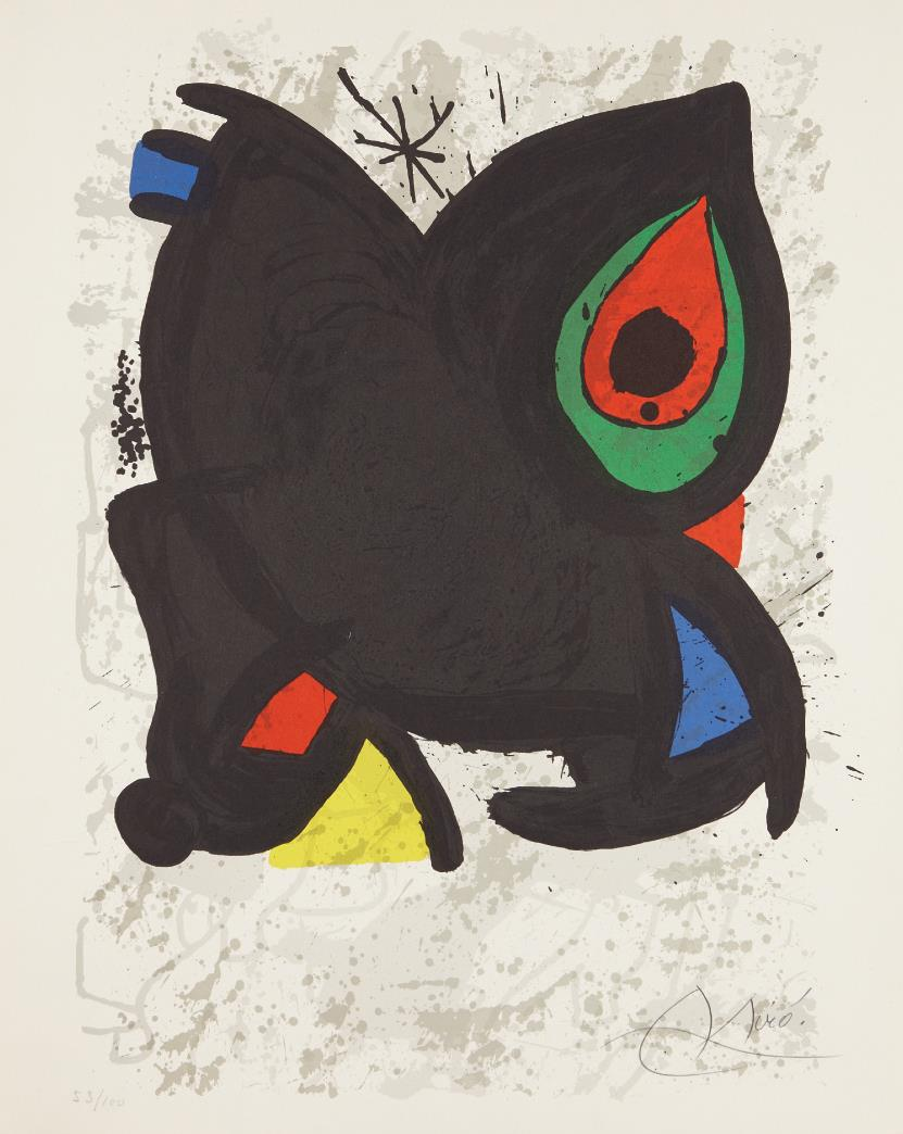 Joan Miro-Joan Miro, Grand Palais, Paris-1974