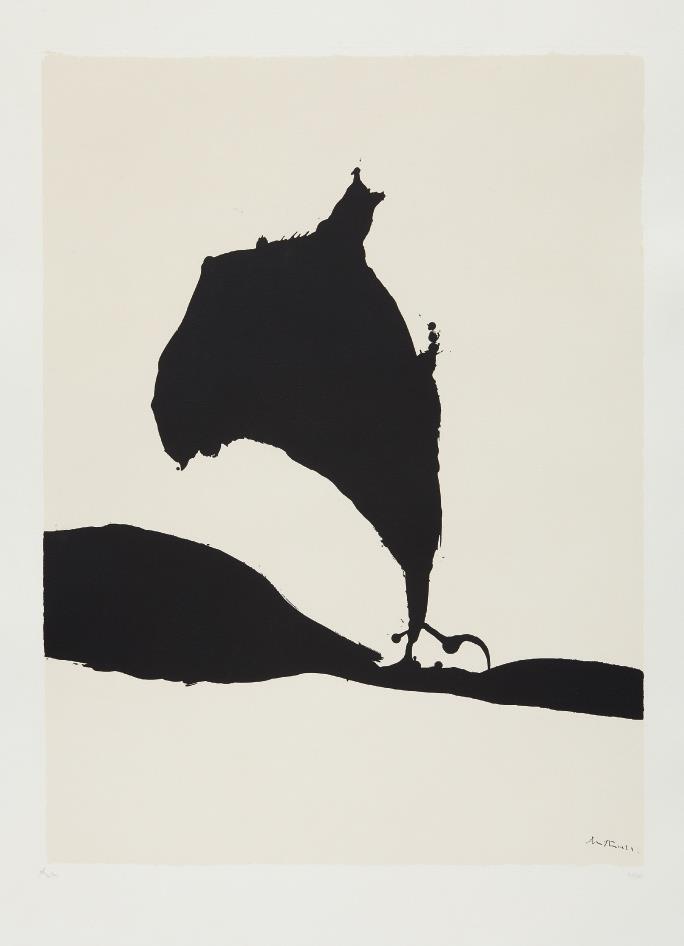Robert Motherwell-Africa Suite: Africa 9-1970