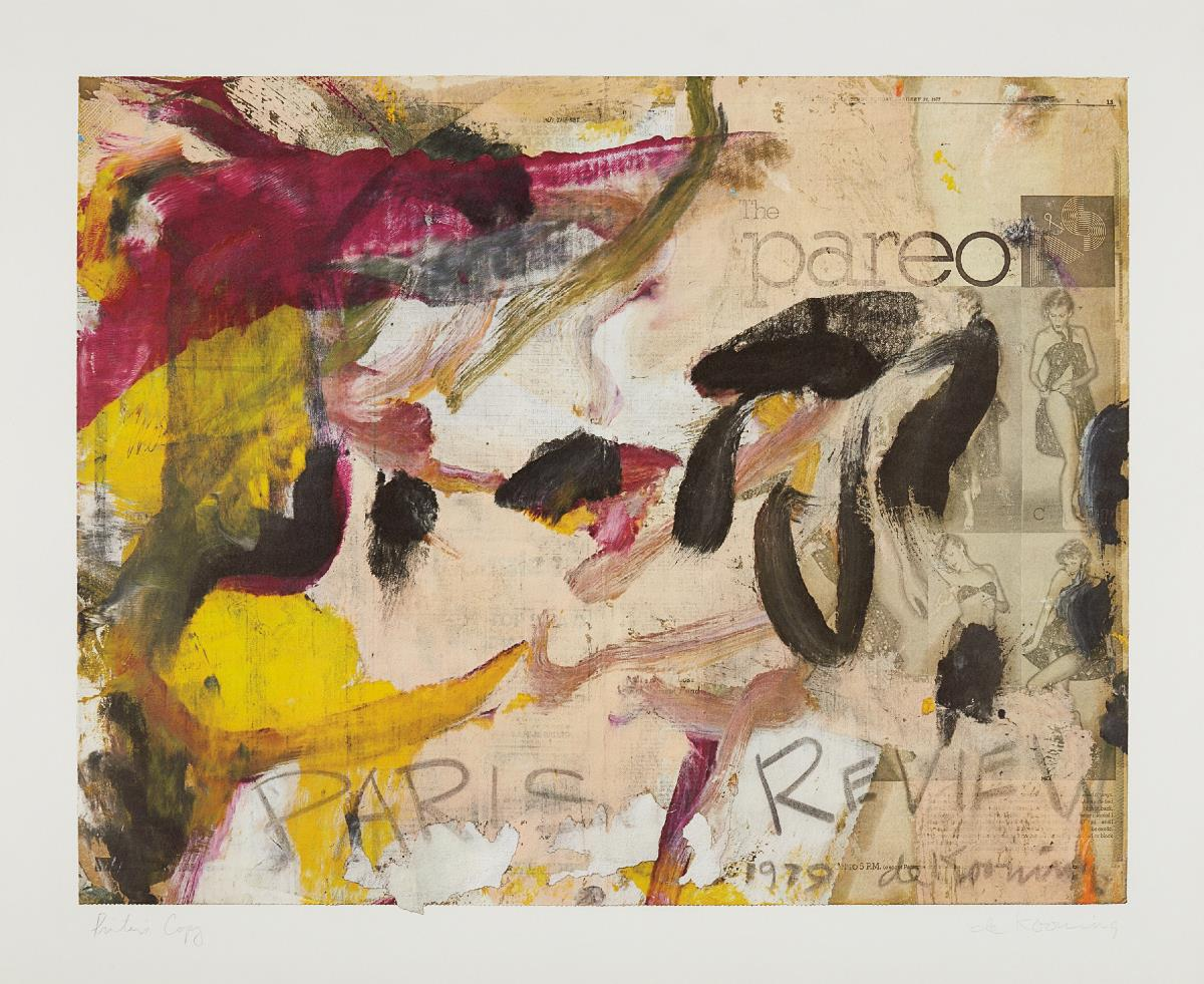 Willem de Kooning-Paris Review-1979