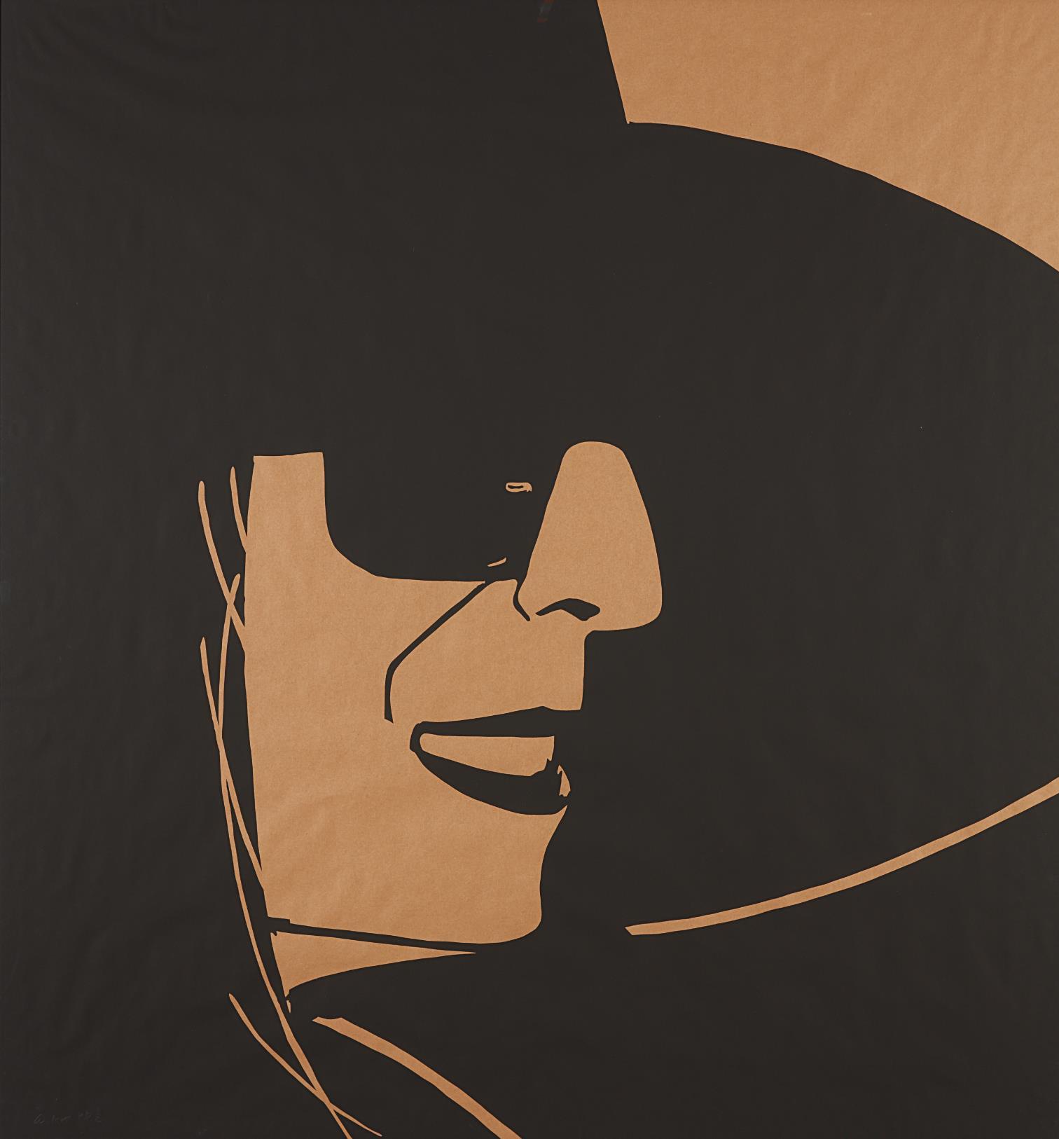 Alex Katz-Large Black Hat Ada 2-2013