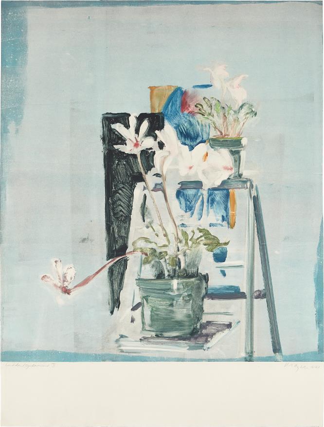 Michael Mazur-Ladder Cyclamen II-1981