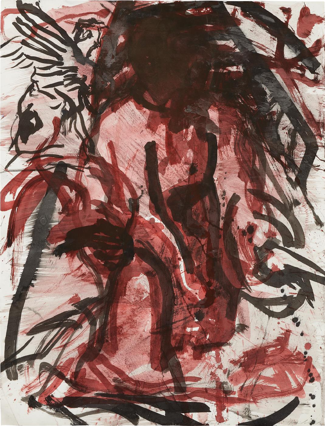 Julian Schnabel-Untitled (Agony in the Garden)-1981