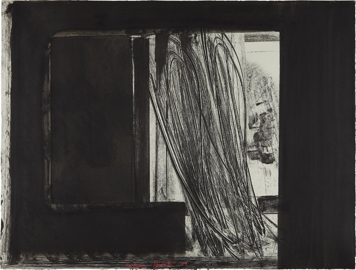 Howard Hodgkin-Early Evening in the Museum of Modern Art-1979