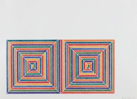 Frank Stella-Fortin de las Flores, from Jasper's Dilemma-1973