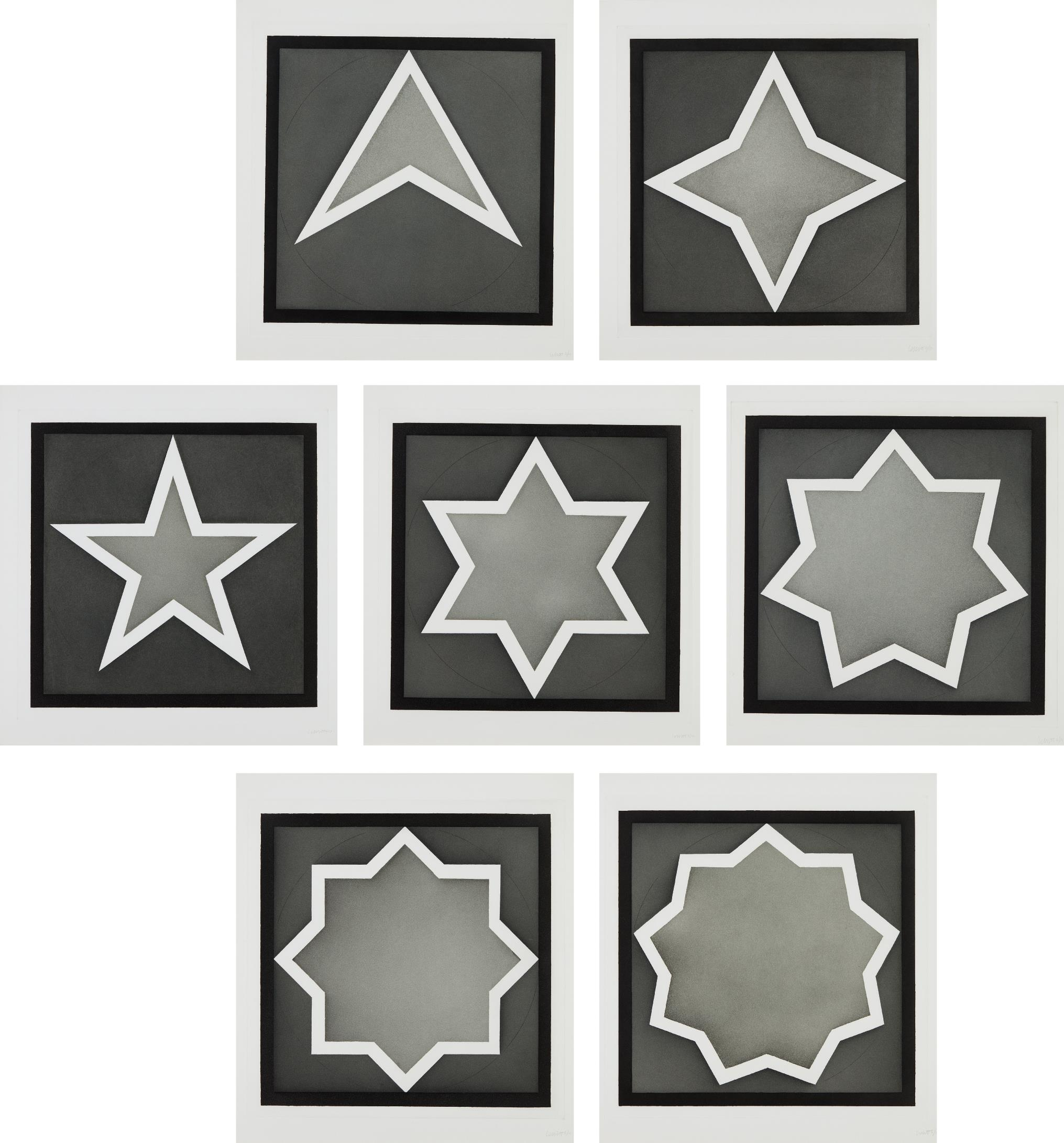 Sol LeWitt-Stars - Light Center-1983