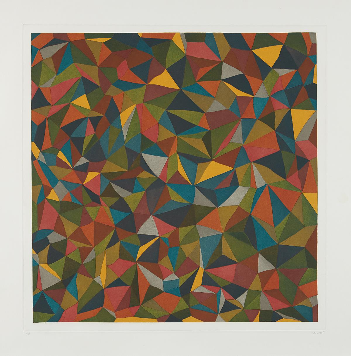 Sol LeWitt-Complex Forms: Plate 1-1990