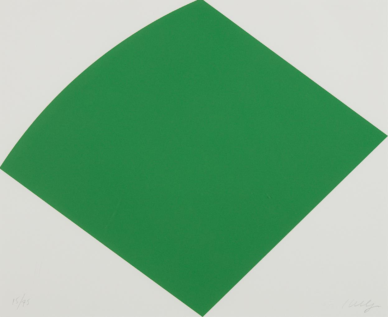 Ellsworth Kelly-Green Curve-1996