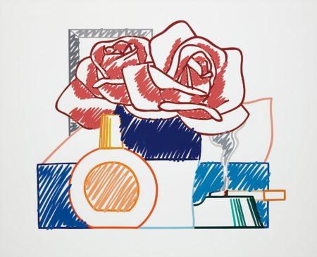 Tom Wesselmann-Scribble Version of Still Life no.58-1991