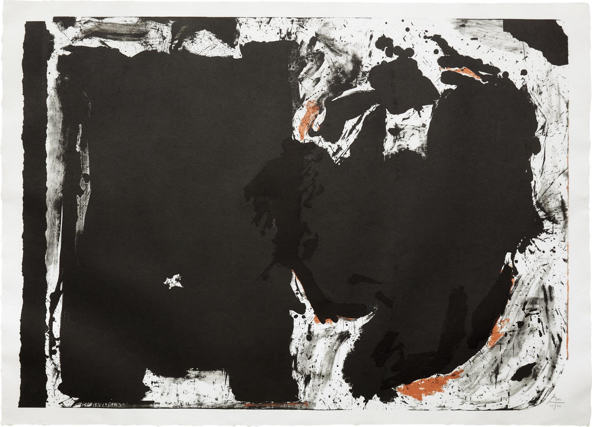 Robert Motherwell-Lament for Lorca-1982