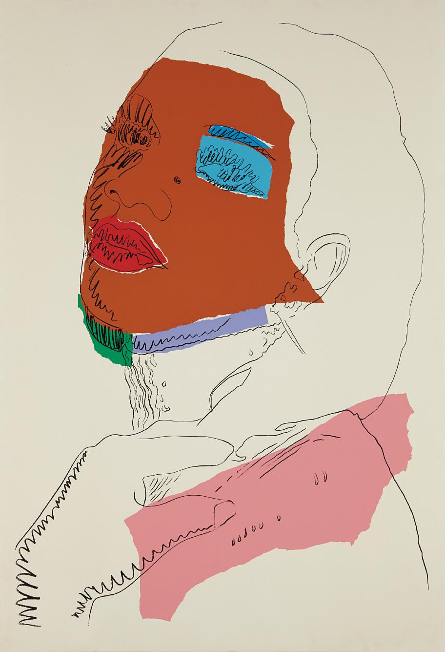 Andy Warhol-Ladies and Gentlemen-1975