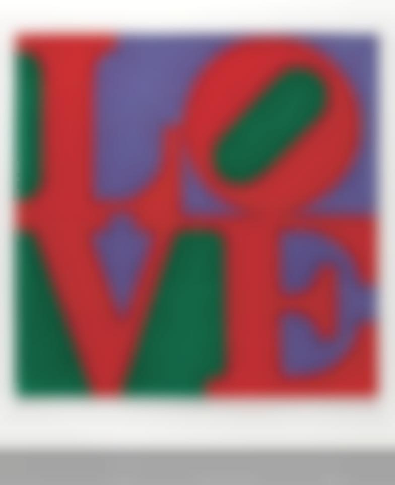 Robert Indiana-Chosen Love (Philadelphia)-1995