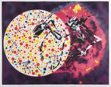 James Rosenquist-Woman in the Sun-1991