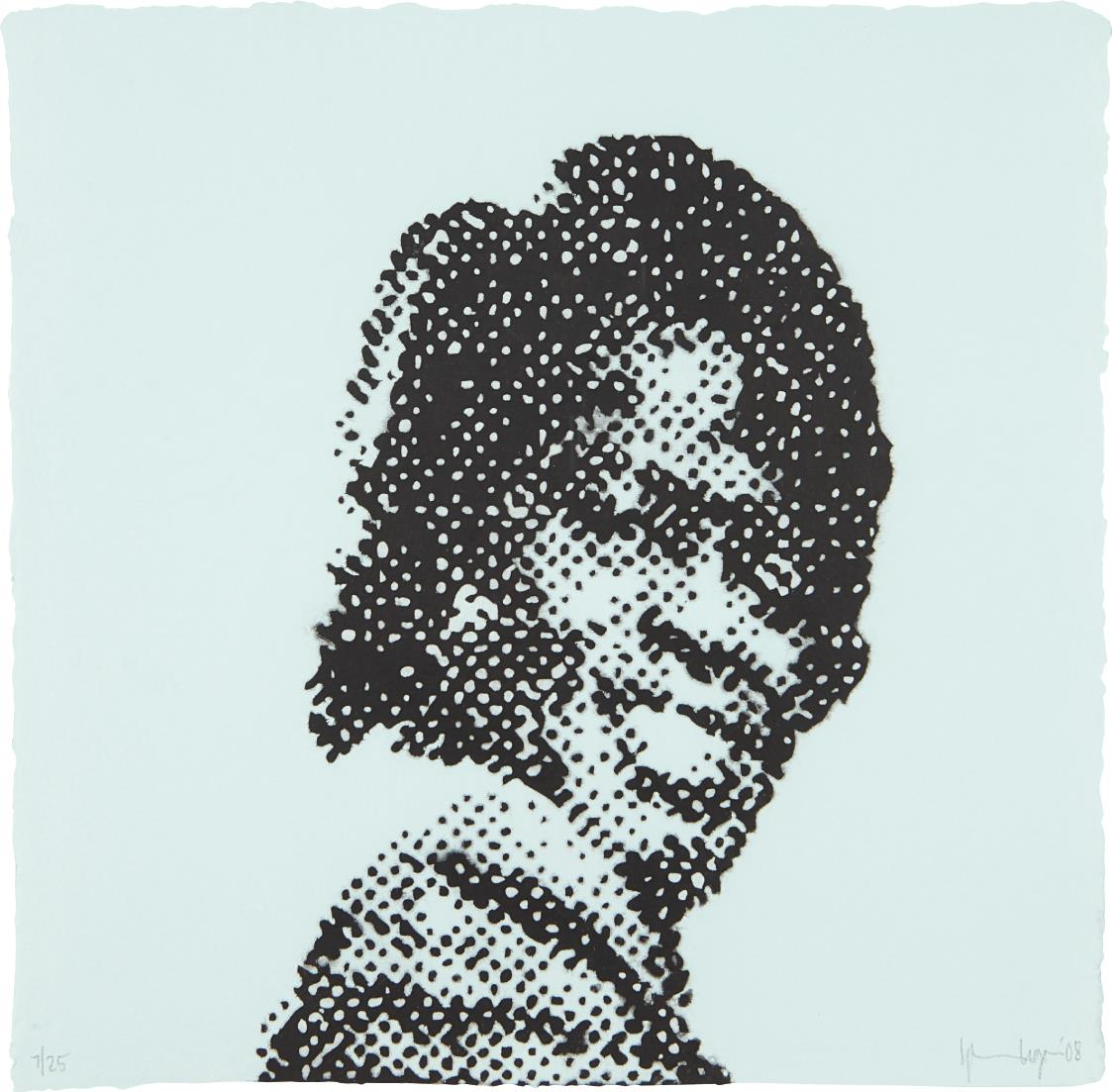Glenn Ligon-Self Portrait at Nine Years Old (James Brown)-2008