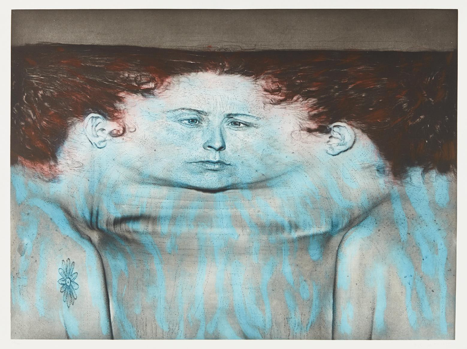 Kiki Smith-My Blue Lake-1995