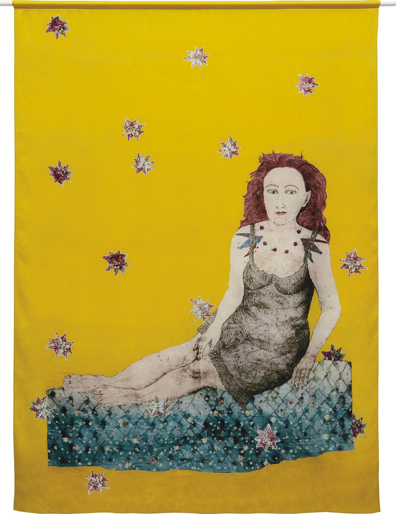 Kiki Smith-Sitting with a Snake-2007