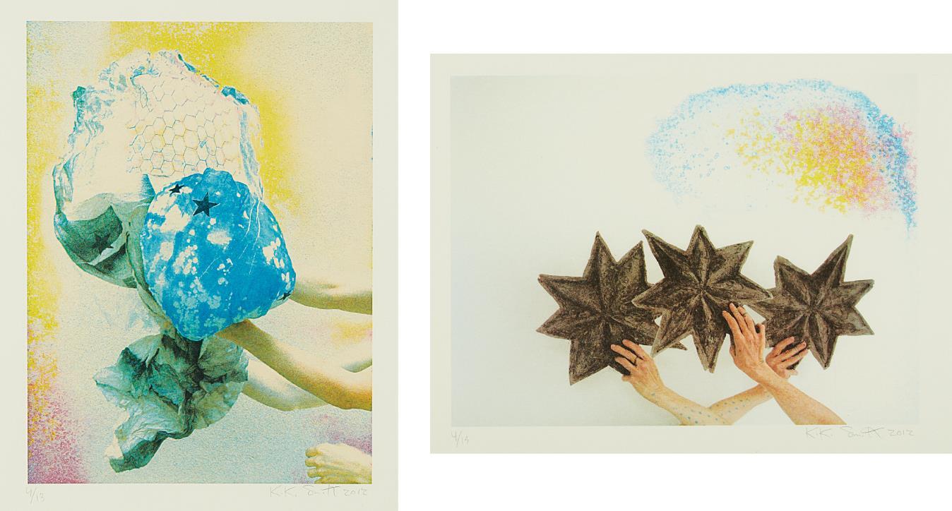 Kiki Smith-Miracle; and Cloud-2012
