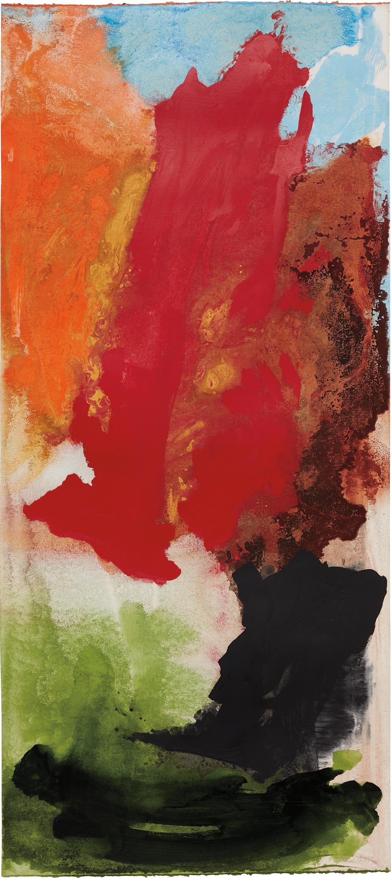 Friedel Dzubas-Untitled-1984