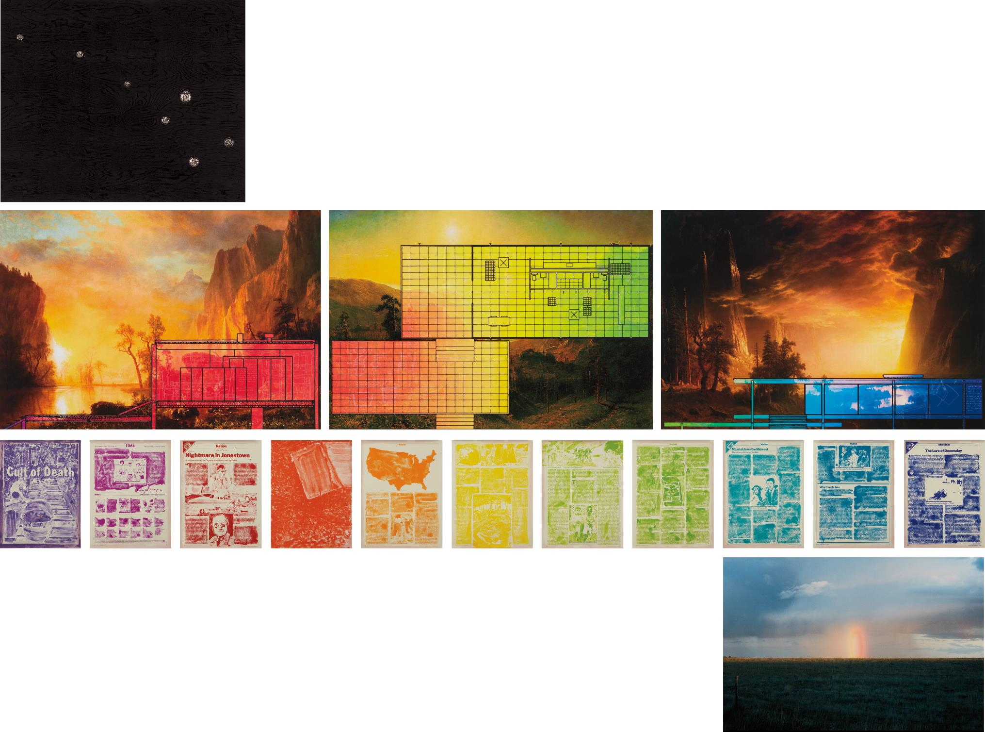 Matthew Day Jackson-Das Wochenendhaus from The Dymaxion Series-2007