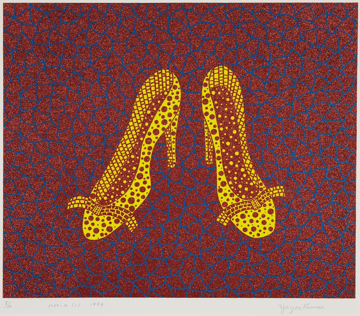 Yayoi Kusama-High Heels (1)-1999