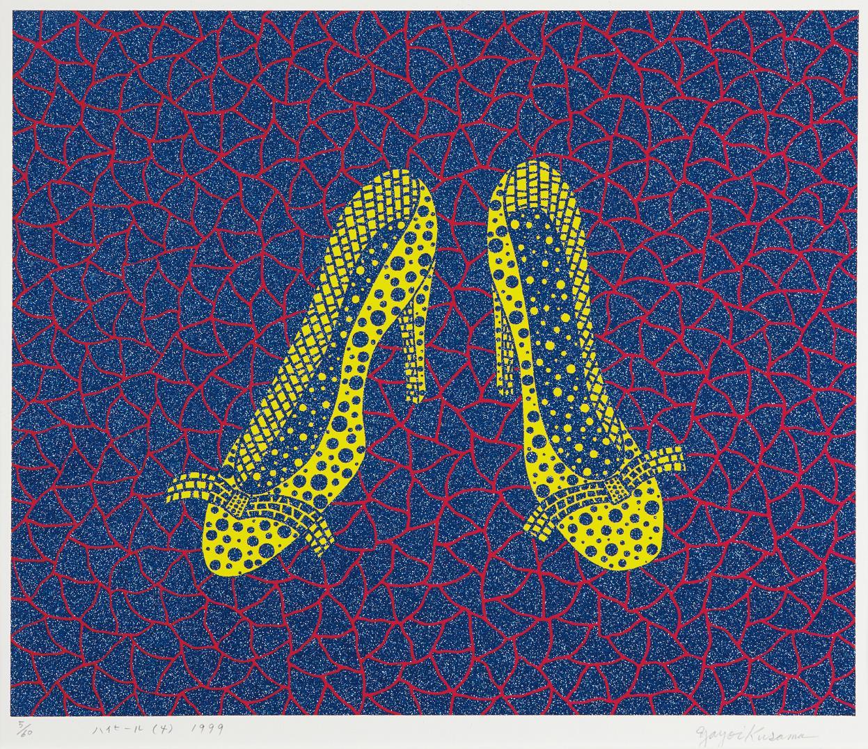 Yayoi Kusama-High Heels (4)-1999
