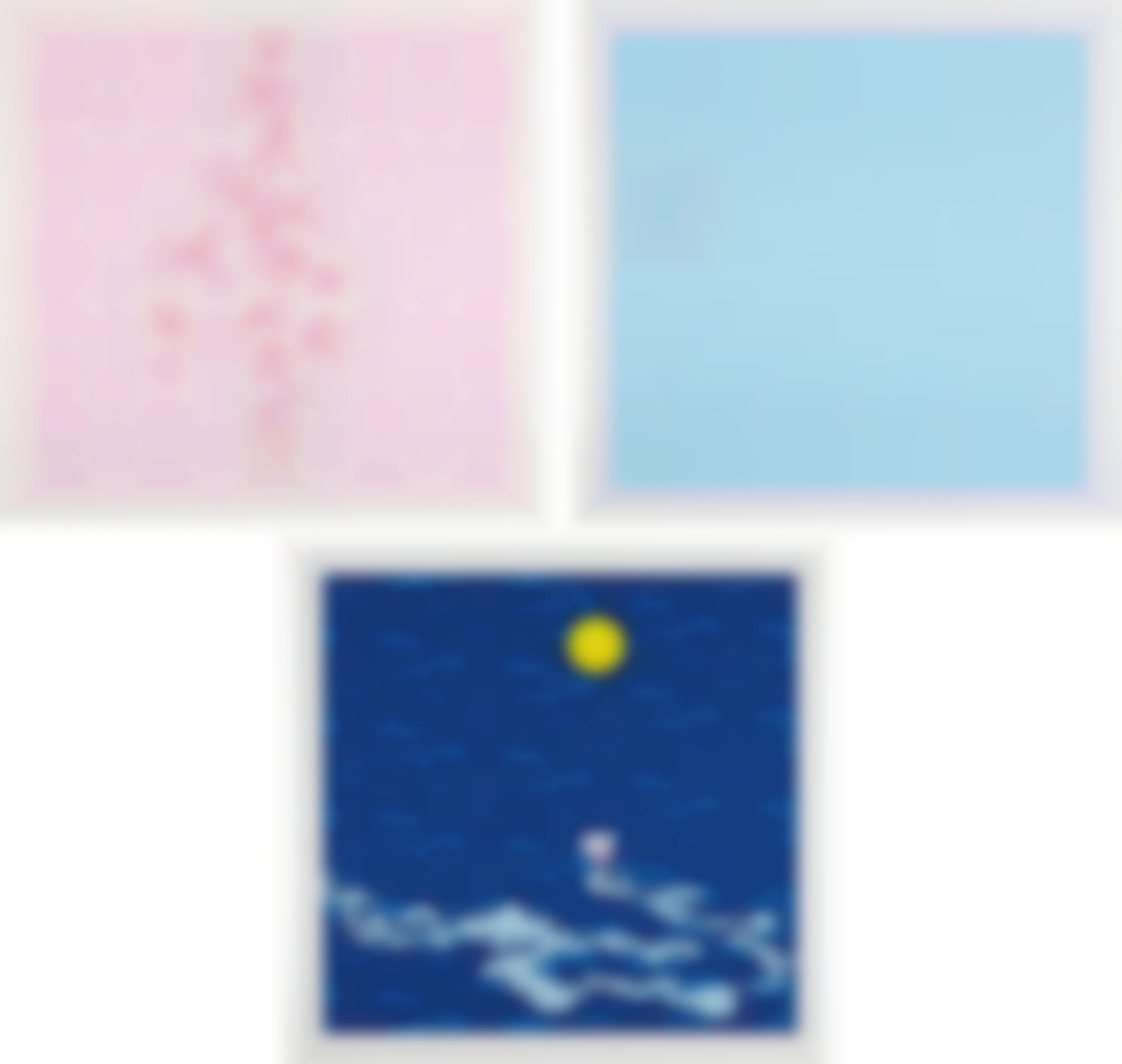 Takashi Murakami-Snow Moon Flower-2002
